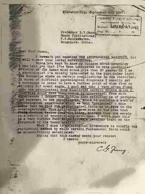 Carta de Jung