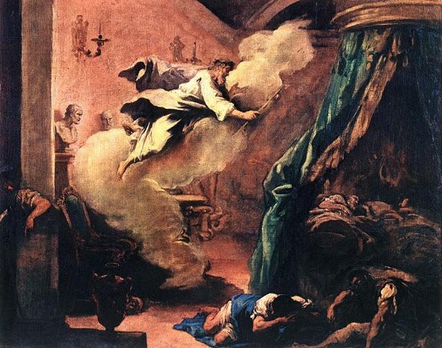 Sebastiano Ricci - El sueño de Esculapio - c. 1710